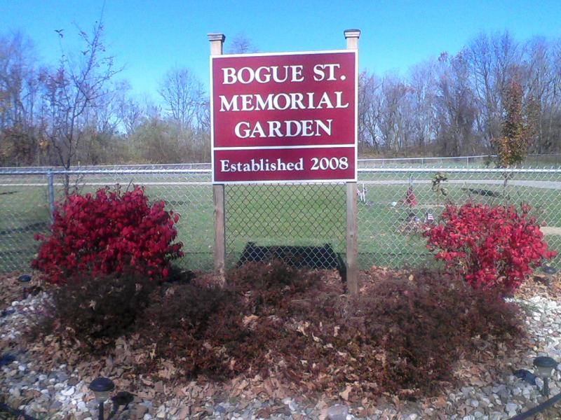 BOGUE STREET MEMORIAL GARDEN ON BOGUE STREET